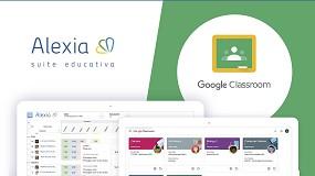 Foto de Alexia y Google Classroom se integran