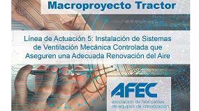 Foto de Los sistemas de ventilación mecánica controlada en el Macroproyecto Tractor sobre la rehabilitación energética de las instalaciones en edificios