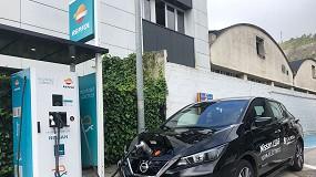 Foto de Repsol y Nissan inauguran un punto de recarga rápida en Bergara, Guipúzcoa
