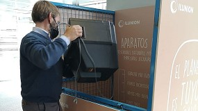 Foto de Los trabajadores de la sede corporativa de Ilunion reciclan más de 500 kilos de residuos eléctricos y electrónicos