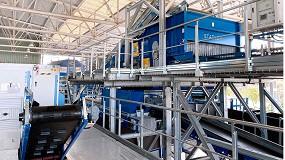 Foto de Stadler desarrolla y fabrica la línea de clasificación integrada para el proyecto Life4Film en la planta de granada operada por FCC Medio Ambiente