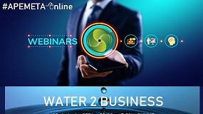 Foto de Apemeta promove webinar 'Water 2 Business'