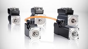 Foto de Las combinaciones compactas de B&R de motor-servoaccionamiento minimizan el tamaño de la máquina