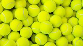 Foto de Ensayan la valorización de pelotas de tenis para generar un material termoplástico sostenible