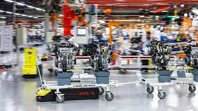 Foto de Kivnon y Eurecat innovan en robótica móvil para hacer las fábricas más flexibles e inteligentes