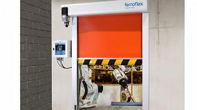 Foto de Ferroflex lanza al mercado una nueva puerta para líneas de producción