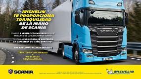 Foto de Michelin y Scania se asocian en una campaña única