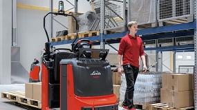 Foto de Novos empilhadores elétricos da Linde Material Handling atingem nível de desempenho dos empilhadores com motor de combustão interna
