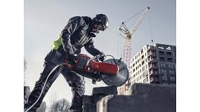 Foto de Husqvarna Construction lanza la próxima generación de cortadora a batería