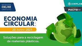 Foto de Webinar 'Soluções para a reciclagem de materiais plásticos'