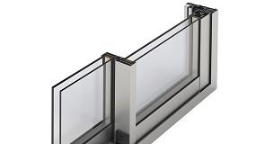 Foto de Extrusal apresenta o novo sistema de janelas e sacadas B.095 Light View