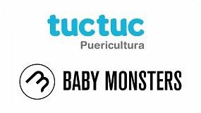 Foto de La unión de dos grandes marcas, tuc tuc & Baby Monsters