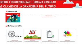 Foto de Nanta presenta la web de Granja Circular para avanzar en la sostenibilidad de la ganadería