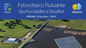 Foto de EDIA debate oportunidades e desafios do fotovoltaico flutuante
