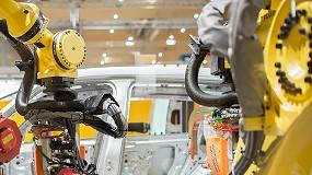 Foto de Fanuc assinala a produção do seu robô industrial número 750.000