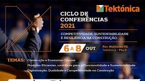 Foto de Ciclo de conferências Tektónica 2021: resiliência e sustentabilidade na Construção em destaque