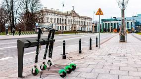 Foto de Aparcapatinetes Edam: la solución urbana para el estacionamiento de patinetes
