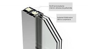 Foto de As poliamidas Low Lambda da Technoform no novo sistema Alg 75 Máxima Passivhaus da Alugom