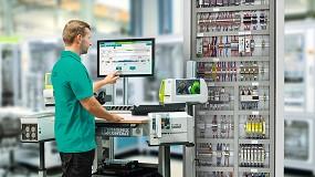 Foto de Preparación eficiente de cableados mediante el sistema de asistencia al operario Clipx Wire Assist de Phoenix Contact