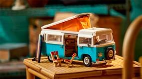 Foto de LEGO da la bienvenida a un verano de diversión con el nuevo set de caravana Volkswagen T2