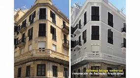 Foto de Morteros webercal en la rehabilitación de un antiguo edificio en Ceuta