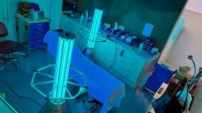 Foto de El Hospital Mutua Montañesa desinfecta sus instalaciones con tecnología ultravioleta-C