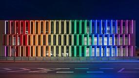 Foto de Escenografías luminosas para el nuevo edificio del aeropuerto internacional de Atenas
