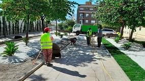 Foto de El Ayuntamiento de Jaén automatiza 4.500 nuevos metros cuadrados de riego inteligente