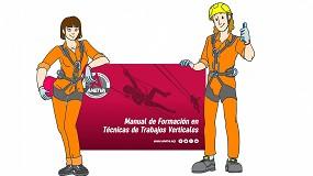 Foto de Anetva publica una nueva edición renovada de su Manual de Formación en Técnicas de Trabajos Verticales