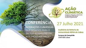 Foto de Conferência alterações climáticas: que desafios para o setor agroflorestal nos próximos anos?