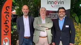 Foto de Kubota se une a Inno'vin, cluster dedicado a la innovación vitivinícola