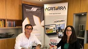 Foto de Agriterra e AJAP estabelecem acordo media partner