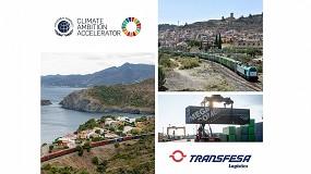 Foto de Transfesa Logistics se une al programa Climate Ambition Accelerator para alcanzar el cero neto en 2050
