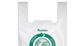 Foto de Auchan já reutilizou 130 toneladas de plástico separado nas suas lojas para produzir o saco Eco Circular