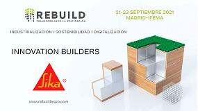 Foto de Sika, presentará sus soluciones innovadoras y sostenibles en Rebuild 2021 como 'Event Partner'