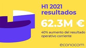 Foto de Econocom registra un fuerte crecimiento en los resultados semestrales de 2021