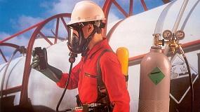Foto de Equipo de Protección Respiratoria con línea de aire comprimido a demanda