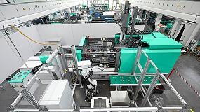 Foto de Allrounder Cube 1800: a nova máquina de moldes cúbicos compacta da Arburg