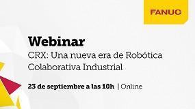 Foto de Fanuc Iberia prepara webinar sobre nova geração de robôs colaborativos CRX