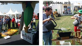 Foto de Anipla e o Valorfito promovem demonstrações na Agroglobal