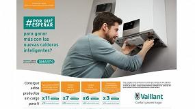 Foto de Productos sin cargo por la compra de calderas en la nueva promoción de Vaillant