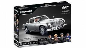 Foto de Playmobil lanzará el Aston Martin DB5 de James Bond