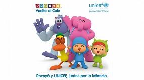 Foto de Pocoyó-Zinkia y Unicef España firman un acuerdo para promover los derechos de la infancia más vulnerable