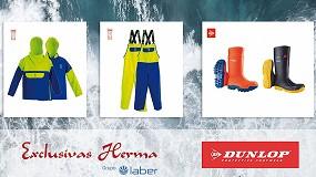 Foto de Exclusivas Herma presenta su línea de ropa laboral Fishing junto con Dunlop Protective Footwear y sus botas de agua profesionales