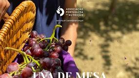 Foto de Dona Uva apoia e-book sobre uva de mesa da Associação Portuguesa de Nutrição