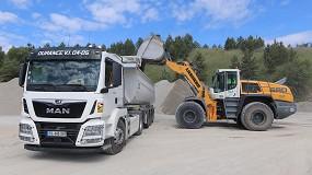 Foto de SAB compra excavadoras sobre cadenas y cargadoras sobre ruedas Liebherr