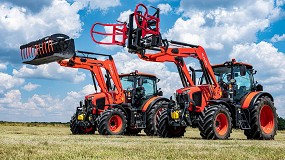 Foto de MX montará de fábrica las palas frontales de los tractores Kubota Serie M