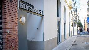 Foto de Luminarias Vibia para un hotel boutique de Barcelona