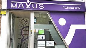 Foto de Maxus Formación se sumerge en el inglés de forma interactiva con monitores de última generación