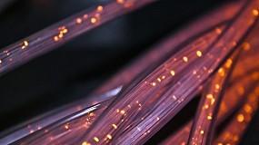 Foto de Testado cabo submarino com fibra multicore